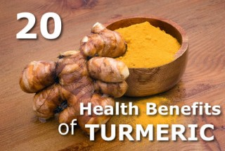 20 Health Benefits of Turmeric