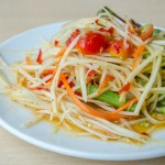 Thai Green Papaya Salad Recipe | Som Tam Recipe