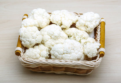 Basket of Cauliflower