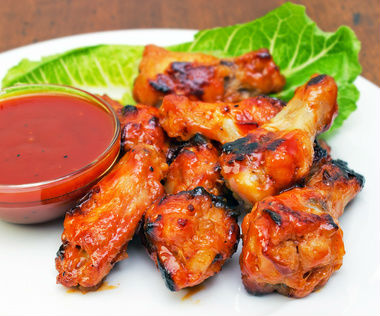 Healthy Buffalo Chicken Wings
