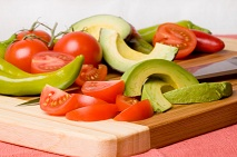 Tomatoes and Avocados Together