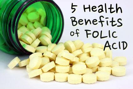 5 Health Benefits of Folic Acid