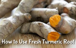 How to Use Fresh Turmeric Root