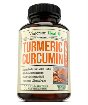 Best Turmeric Supplements - Vimerson Turmeric Curcumin with Piperine